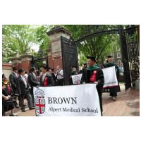 Alpert Medical School logo